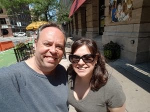 Ephraim Gopin and Lindsey Rosenthal