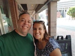 Ephraim Gopin and Meg Hoffman